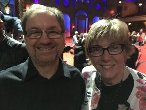 Jaroslaw Golembiowski and Julie Lovison